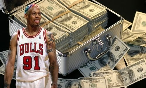 What is Dennis Rodman's Net Worth in 2021 and how does he make his money?