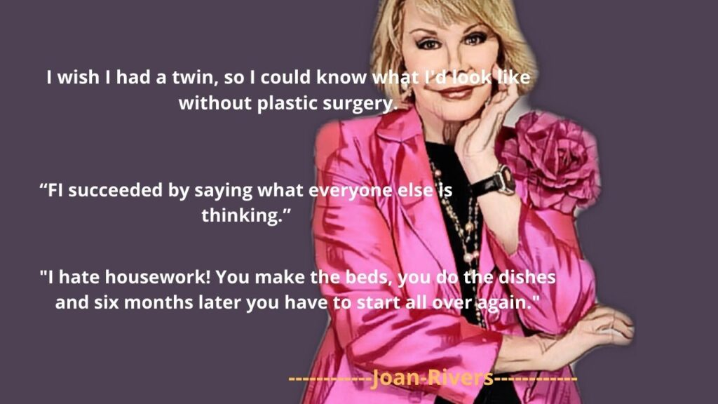 joan rivers famous quotes