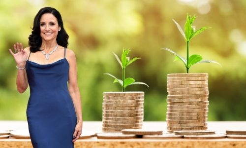 What is Julia Louis-Dreyfus's Net Worth in 2021 and how does she make her money?