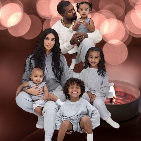 Kim Kardashian's Kids with Kanye West