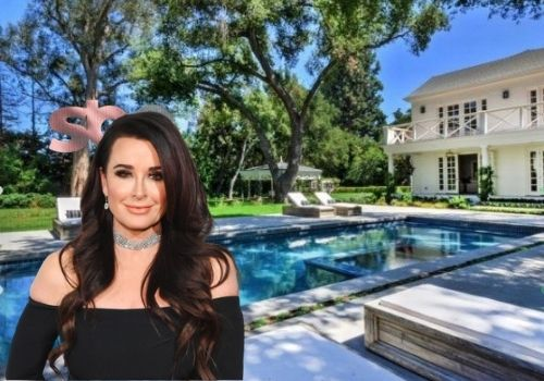 Kyle Richards and her husband bought new House.
