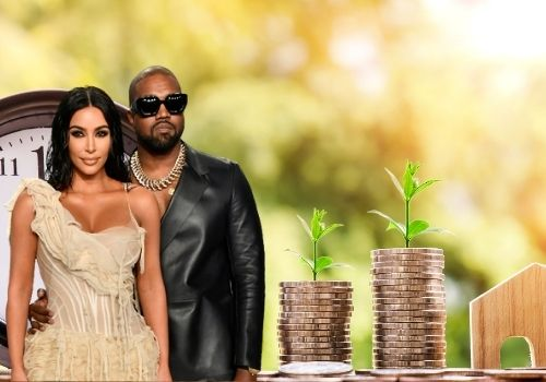 Kim Kardashian and husband Kanye West's joint Net Worth.