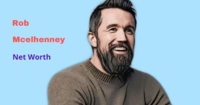 Rob Mcelhenney's Net Worth in 2021 - Wife, Height, Body Stats, Workout, Instagram