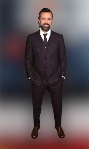 Rob Mcelhenney Height - How tall is he?