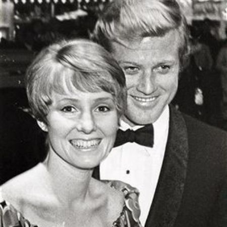 Who is Robert Redford's first wife?