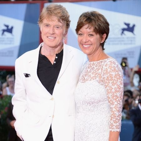 Who is Robert Redford married to