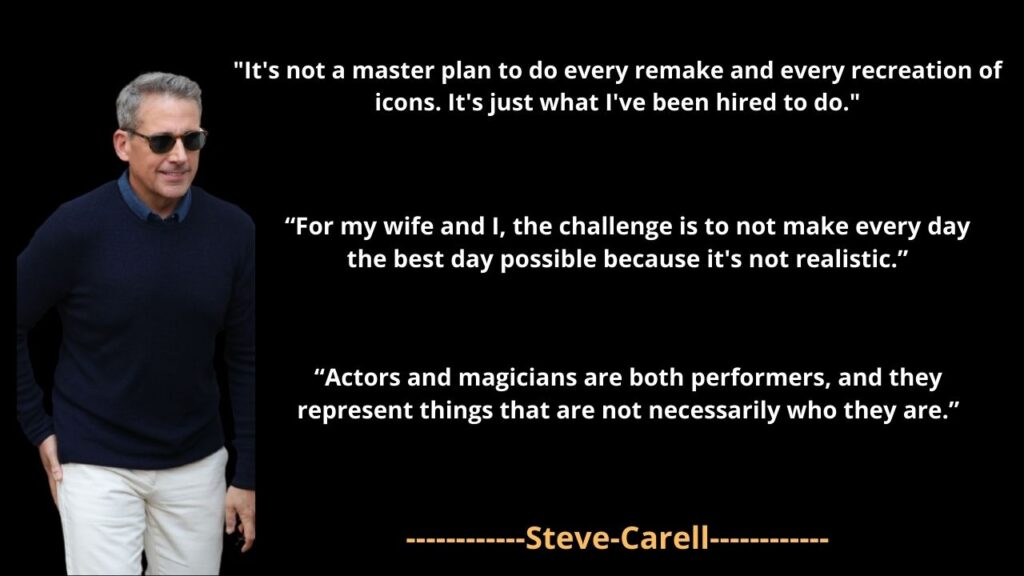 Steve Carell famous Quotes and Sayings