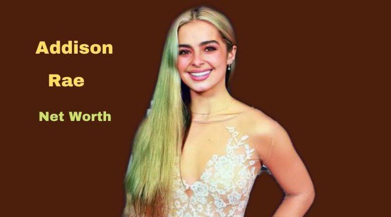 Addison Rae's Net Worth in 2021 - How did Social Media Star Addison Rae earn her Net Worth?