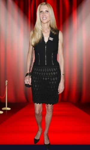 Is Ann Coulter's height 6 feet?