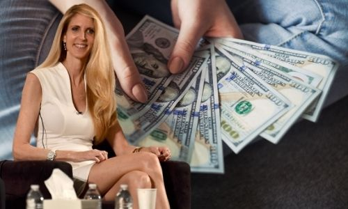 What is Ann Coulter's Net Worth in 2021 and how does she make her money?