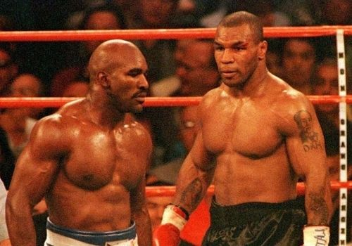 Why did Mike Tyson bit Evander   Holyfield's ear?