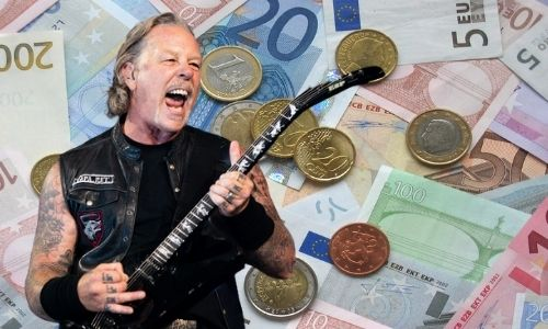 What is James Hetfield's Net Worth in 2021 and how does he make his money?