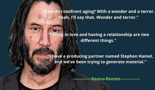 Top 5 Keanu Reeves' Quotes