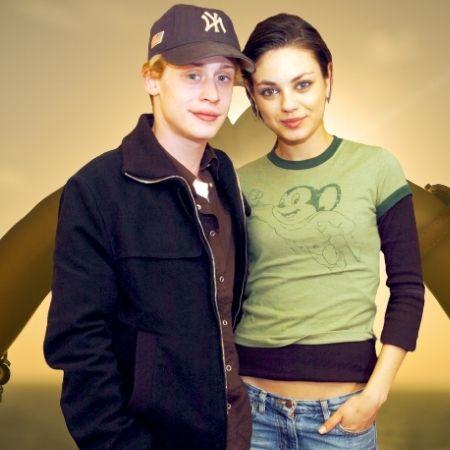 Macaulay Culkin's relationship with Mila Kunis