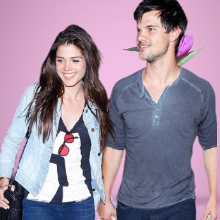 Taylor Lautner's ex-girlfriend Marie Avgeropoulos