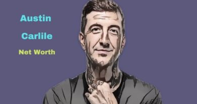 What is Austin Carlile's Net Worth in 2021 and how does he make his money?
