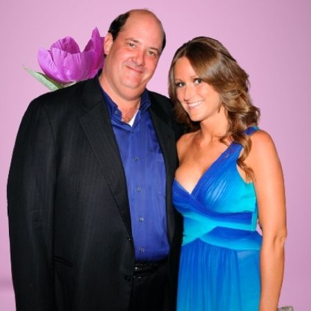 Who is Brian Baumgartner's wife?