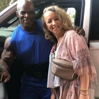 Who is Ronnie Coleman's wife?