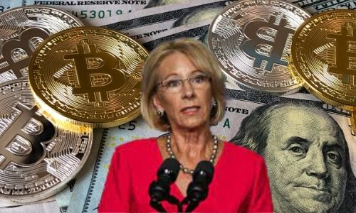 How much is Betsy DeVos' net worth in 2021?