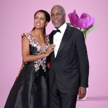 Who is Danny Glover's spouse/partner?