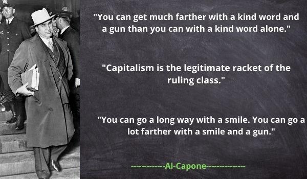 Al Capone's famous