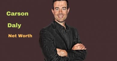 Carson Daly's Net Worth in 2021 - How did Radio Host Carson Daly earn his money?