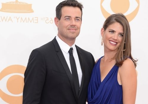 Who is Carson Daly married to?