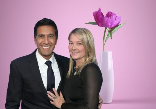 Sanjay Gupta has been married to Rebecca Olson since 2004. They have three child together.