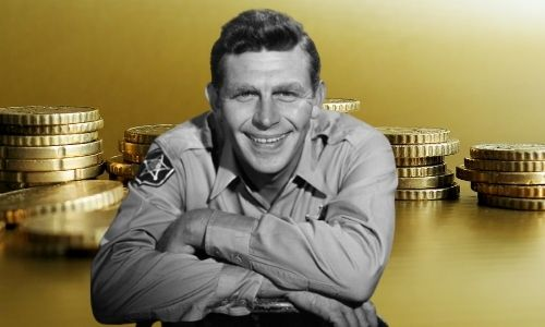 How much was Andy Griffith's net worth?