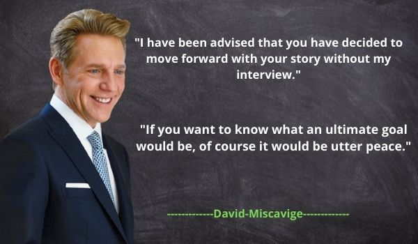 Top Quotes from David Miscavige's