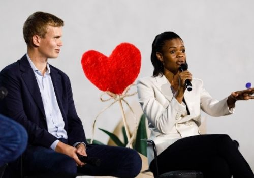 George Farmer has been married to Candace Owens since 2019