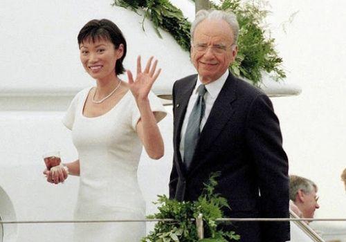 Wendi Deng, the ex-wife of Businessman Rupert Murdoch