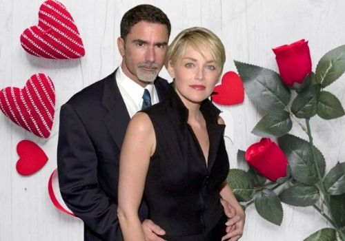 Who is Sharon Stone's ex-husband Phil Bronstein?