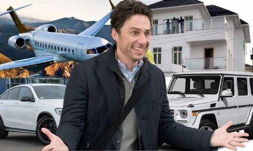 How did Zach Braff's Net Worth and wealth Reach $23 Million in 2021?