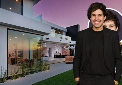 David Dobrik purchased $9.5 Million Los Angeles Mansion.