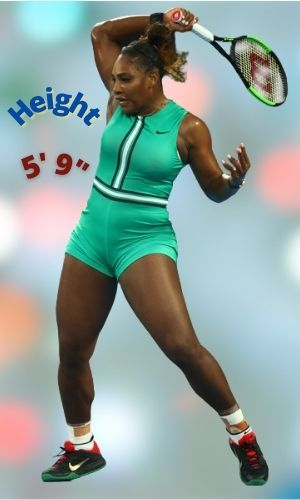 Serena Williams' Height - How tall is she?