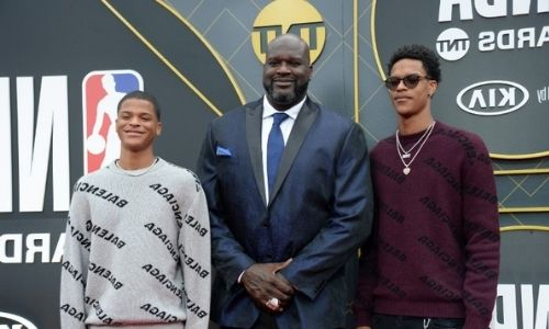 How many kids does Shaquille O'Neal have?