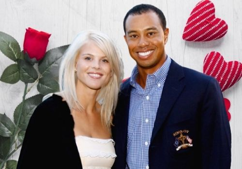 'Elin Nordegren, the ex-wife of multi millionaire Golfer Tiger Woods.