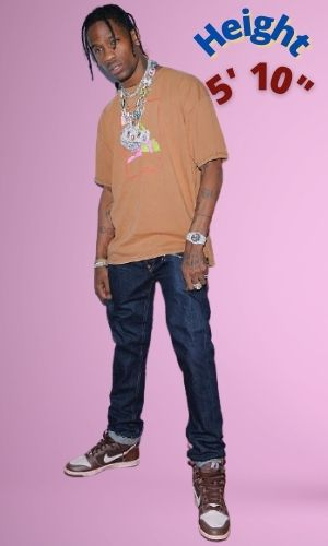 Travis Scott's Height - How tall is he?