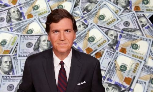 According to celebritynetworth.com Tucker Carlson's net worth is estimated at USD 30 million.