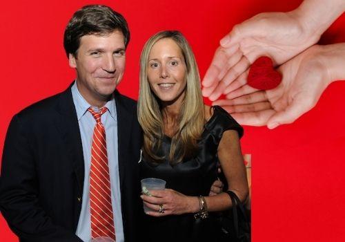 Tucker Carlson Married his School Principal's Daughter Susan Andrews on August 10, 1991.