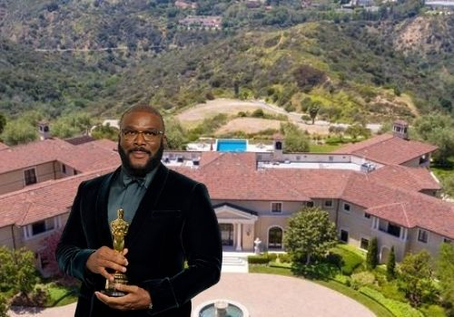 Tyler Perry's L.A. Mansion - Real estate investments