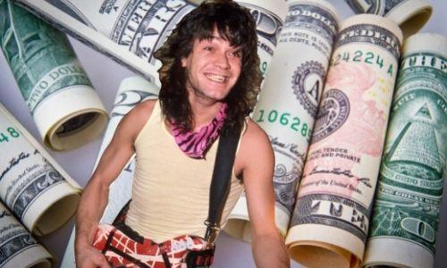 How did Eddie Van Halen's Net Worth and wealth Reach $100 million in 2021?