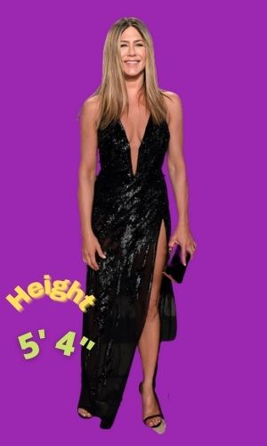 Jennifer Aniston's Height - How tall is she?