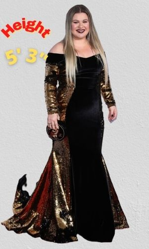 Kelly Clarkson's Height - How tall is she?